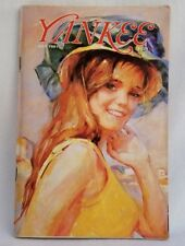 Vintage Yankee Magazine July 1981 Girl At The Beach by Marian Williams Steele