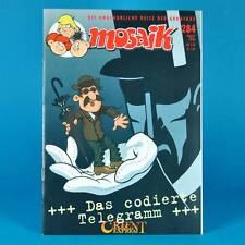 Mosaico Abrafaxe 284   agosto 1999   DDR DA COLLEZIONE c1   il telegramma con codifica