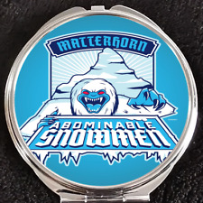 Matterhorn Abominable Snowman Walt Disney World Disneyland Makeup Compact Mirror
