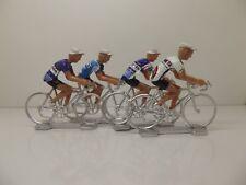 Pedro Delgado cycling figurines set miniature Seat Reynold Pinarello Prince