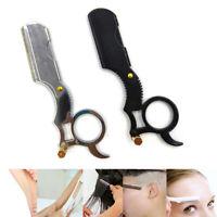 Hair Cut Razor Solid Straight Razor Shaving Barber Type Knife Tool  Salon Cl Hw