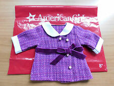 New ~American Girl Rebecca's  BeForever Meet Jacket Coat~ with Red Bag Samantha