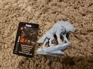Blood Rage Fenrir figure + card
