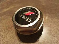 TRD FORGED Aluminium OIL FILLER CAP TOYOTA AURIS YARIS COROLLA SUPRA GT86 MR2 AE