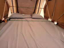 225 TC Black  / Roof Top Tent Fitted Sheet Set Camping (M.T.M)