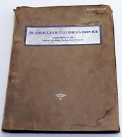 dH Technical service, Lecture notes for the Venom airframe course