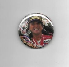 "Emerson Fittipaldi Indianapolis 500 2-Time Winner 2 1/4"" Button #1"