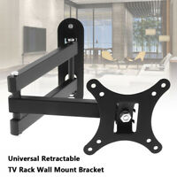 Universal TV Wall Mount Bracket Tilt Swivel for 14 to 27 inch LCD LED Monitor