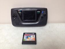 Sega Game Gear Console Black Handheld System Portable With Sonic Game WORKS
