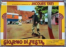 Affiche JOUR DE FETE Vélo JACQUES TATI Cirque FACTEUR Aff Italienne