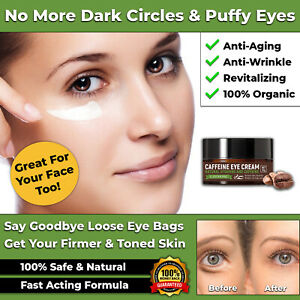 NEW EYE CREAM ANTI-WRINKLE ANTI-AGEING FOR FACE DARK CIRCLES PUFFINESS WRINKLES