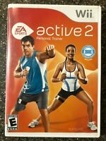 EA Sports Active 2: Personal Trainer - Nintendo Wii Game - Complete Tested