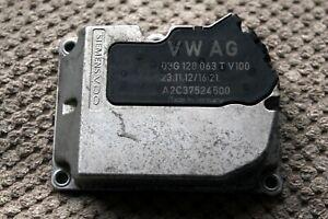 Original VW Volkswagen Golf mk6 Jetta Siemens VDO Throttle Body Valve 03G128063T