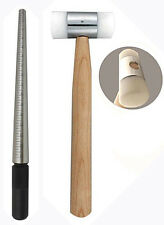 STEEL RING MANDREL & Nylon face  MALLET SET  1-15(rm1+ha210)