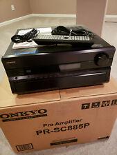 New ListingOnkyo Pr-Sc885P Preamplifier Processor, excellent condition, all accessories
