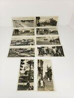 Lot of 10 Vintage Egypt SUEZ Canal & Other Photo Postcards Cairo Publisher Antiq