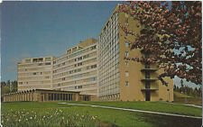 Postcard Oregon Salem Capital Manor Retirement Home Willamette Valley 1960s