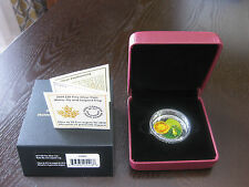 2014 $20 FINE SILVER COIN WATER-LILY AND LEOPARD FROG