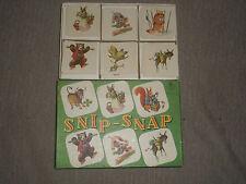 SNIP SNAP jeu de mémoire MULDER et ZOON jeu ancien