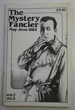 MYSTERY FANCIER MAY 1983 VOL 7 #3 JOHN NIEMINSKI BOB SAMPSON HUMPHREY BOGART