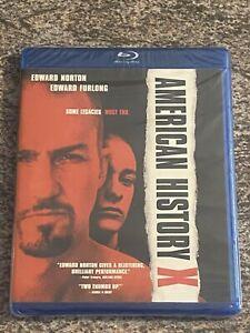 American History X (Blu-ray, New Line Cinema, 1998 Edward Norton Film) BRAND NEW