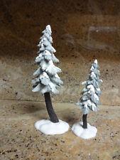 Dept 56 Village Landscape - Flocked Pine Trees 56715 *Christmas*