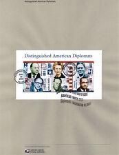 #0632 39c American Diplomats S. S. #4076 Souvenir Page