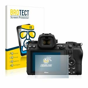Nikon Z 7 II , BROTECT® AirGlass® Premium Glass Screen Protector, Anti-Scratch