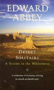 Desert Solitaire: A Season in the Wilderness By Abbey, Edward - ACCEPTABLE