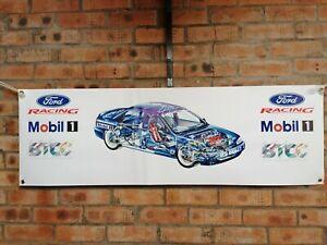 ford mondeo BTCC large pvc banner  garage  work shop   classic show
