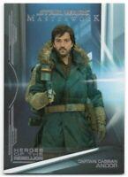 Star Wars Masterwork 2019 Rainbow Heroes Of The Rebellion Chase Card HR-1 299