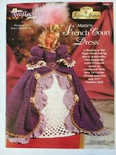 Marie's French Court Dress, Ladies of Fashion crochet pattern