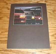 Original 1999 Jeep Full Line Sales Brochure 99 Wrangler Cherokee