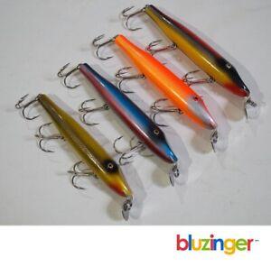 (4) Vintage CREEK CHUB BAIT Co. PIKIE MINNOW Fishing Lure