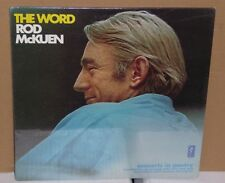 Rod McKuen THE WORD Concerts In Poetry Sealed vinyl LP record Carnegie Hall