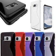 Handy Hülle für Samsung Galaxy Schutz Case TPU Silikon Cover Tasche Schutzhülle