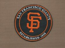 NEW 4 INCH SAN FRANCISCO GIANTS ESTABLISHED 1958 IRON ON PATCH FREE SHIP P1