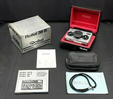 ROLLEI 35 S - SILVER LIMITED EDITION - OAK LEAVES USA EXPORT - MINT CONDITIONS
