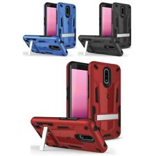 For Nokia C2 Tava Tennen Case with stand Rugged Hard Phone Cover Dual Layer