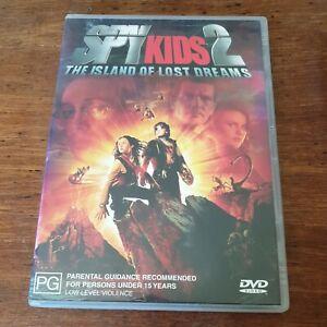 Spy Kids 2 The Island of Lost Dreams DVD R4 Like New! FREE POST