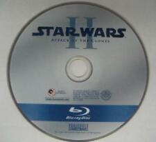 STAR WARS Complete Saga Disc 2 ATTACK OF CLONES Replacement Disc Only BLURAY VG+