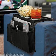 Sofa Arm resto 6 bolsillo organizador Snack Tray, Tv Control Remoto teléfono Dvd Ordenados