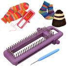 Adjustable Sock Loom Kit Knitting Socks Scarf Hat DIY Hand Craft Tool Plastic