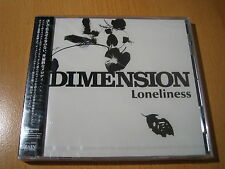 """DIMENSION """"Loneliness"""" Japan CD Jazz-Fusion"""
