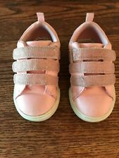 OshKosh Infant Toddler-Girls-Lennox-Meow -Kitten Pink Sneakers Shoes Size 6