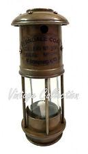 "7"" Antique Brass Minor Lamp Nautical Maritime Ship Home Decor Boat Miner Light"