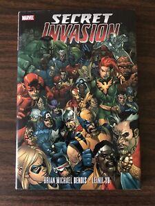 SECRET INVASION [hardcover] Brian Michael Bendis Leinil Yu