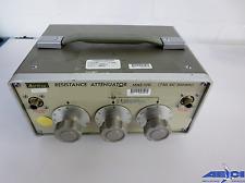 ANRITSU MN510D RESISTANCE ATTENUATOR 75 Ohms, 24dB, 500MHz