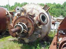 1500 Gallon Stainless Steel Esterificationpolymerization High Viscosity Reactor