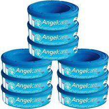 9 X Angelcare Windel Entsorgung System Refill Kassetten Wickel Schlafsäcke Säcke